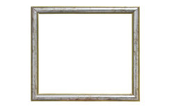 Vintage Wooden Picture Frame. Royalty Free Stock Photography