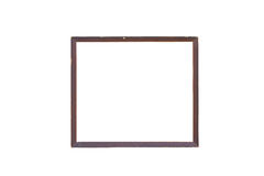 Vintage Wooden Picture Frame. Stock Photo