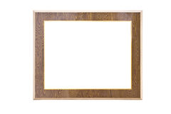 Vintage Wooden Picture Frame. Stock Images