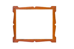 Vintage Wooden Picture Frame. Royalty Free Stock Photos
