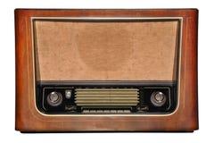 Vintage wooden radio Royalty Free Stock Photo