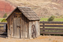 Vintage Wooden Ranch Pump House Royalty Free Stock Photo