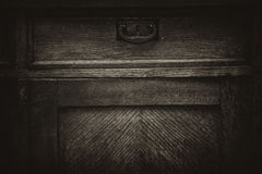 Vintage wooden retro furniture royalty free stock images