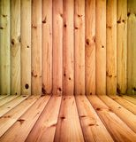 Vintage wooden room Stock Photos