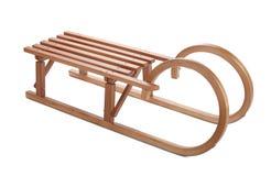 Free Vintage Wooden Sledge. Stock Image - 128111551