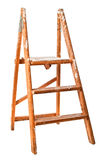 Vintage Wooden Step Ladders Stock Photos