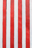 Vintage wooden stripes wall texture. Vintage red and white wooden stripes wall texture Royalty Free Stock Image