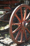 Vintage - Wooden Wagon Wheel Royalty Free Stock Photos