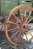 Vintage - Wooden Wagon Wheel Stock Photos