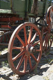 Vintage - Wooden Wagon Wheel Royalty Free Stock Images