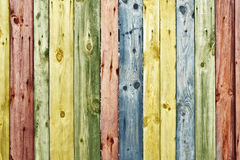 Vintage wooden wall Stock Images