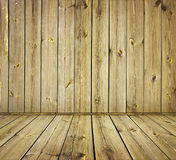 Vintage Wooden Wall Stock Photography