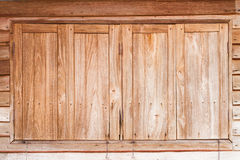 Vintage wooden window Royalty Free Stock Images
