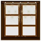 Vintage wooden window Stock Images