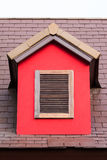 Vintage wooden window Stock Image