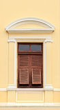 Vintage Wooden Window with shutters Royalty Free Stock Photo