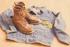 Vintage workwear Royalty Free Stock Photos