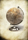 Vintage world globe background Royalty Free Stock Images