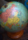 Vintage world globe, URSS and Middle East Royalty Free Stock Image