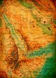Vintage world map Stock Photo