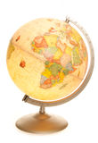 Vintage world map globe glowing stock photos