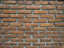 Vintage worn brick wall background Stock Photography