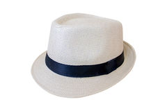 Vintage woven hat Royalty Free Stock Photo
