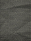 Vintage wrapping paper with zigzag stock image