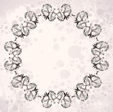 Vintage wreaths Stock Photography
