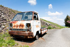 Wreck truck Royalty Free Stock Images