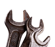 Vintage wrenches Stock Image
