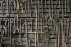 Vintage wrenches Royalty Free Stock Photos