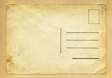 Free Vintage Wrinkle Grungy Postcard. Stock Images - 62993994