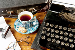Vintage writing Royalty Free Stock Photography