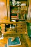 Vintage writing desk Royalty Free Stock Photos