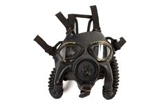Vintage WWII US Navy MK4 Gas Mask Royalty Free Stock Photography