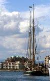 Vintage yacht. Victoria, British Columbia Royalty Free Stock Photos