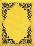 Vintage Yellow Fabric XXL royalty free stock photo