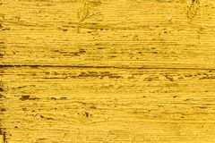 Vintage Yellow Faded Natural  Background. Grunge Old Solid Wood Shabby Peeling Paint Isolated Wall Texture. Vintage Yellow Faded Natural Rustic Wooden stock images
