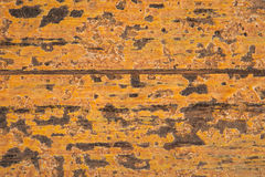 Vintage Yellow  Wood Wall For  background and home Royalty Free Stock Images
