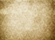 Vintage yellowed and stained paper texture or background. Stock Photo