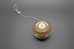 Vintage yoyo with twine stock photography