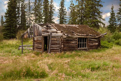Vintage Yukon Cabin Royalty Free Stock Photo