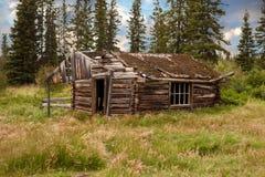 Vintage Yukon Cabin Royalty Free Stock Photo