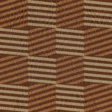 Vintage zig zag pattern - seamless background - leather surface Stock Photography