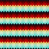 Vintage zigzag seamless pattern Royalty Free Stock Image