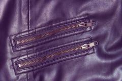 Vintage zip lock texture Stock Images