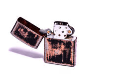 Vintage Zippo Style Lighter Royalty Free Stock Images