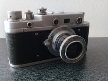 Vintage Zorki S Camera Stock Images