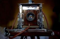 VintageCamera-Detail Stockfotografie
